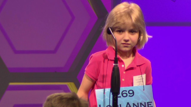 Word that derailed youngest Bee speller