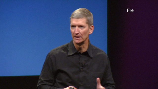 New Apple CEO makes rare appearance