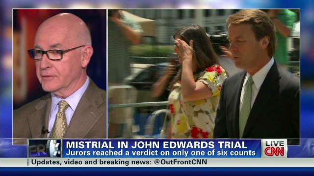 Edwards takes full responsibility?