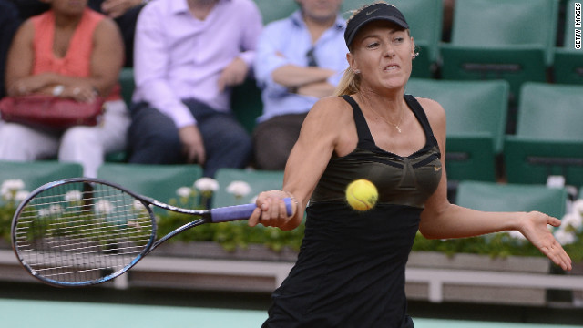 Russia's Maria Sharapova is hoping to reach the French Open final for the first time.