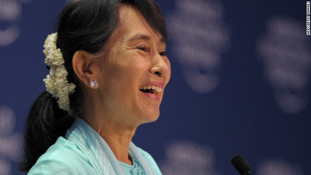 Suu Kyi's first world economic speech