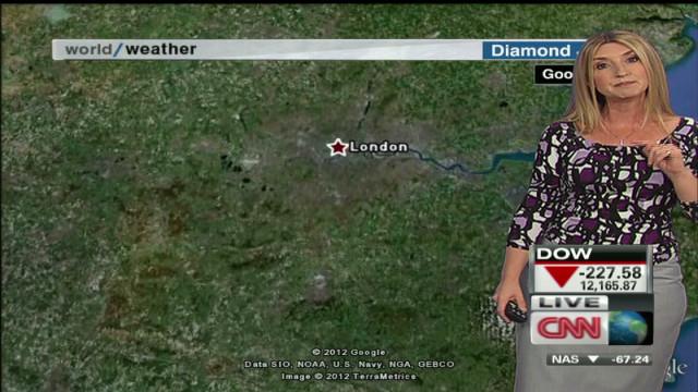Queen's Diamond Jubilee Weather Forecast