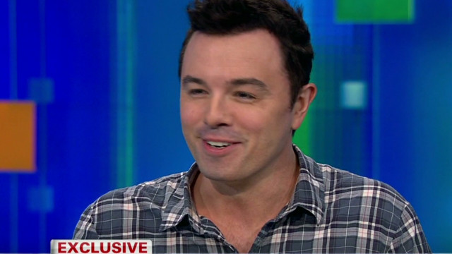 "Seth MacFarlane on ""Family Guy"""