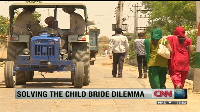 Child brides: A global problem