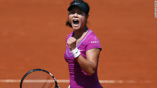 Li Na is the only Chinese singles player remaining at the French Open following Saturday's third-round results.