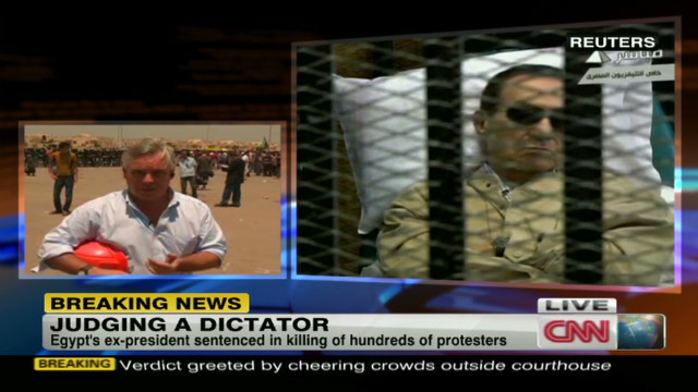 Mubarak sentenced to life