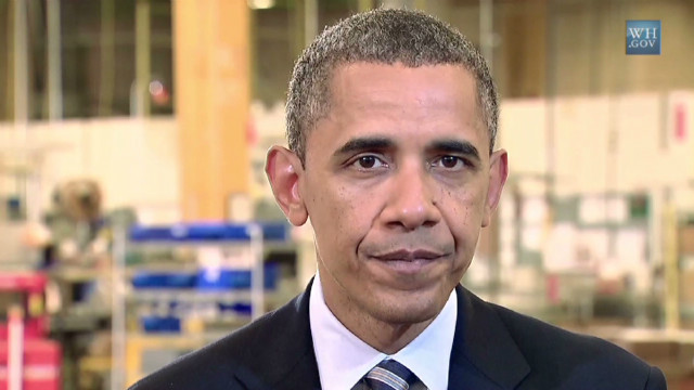 Obama: Time for Congress to get to work