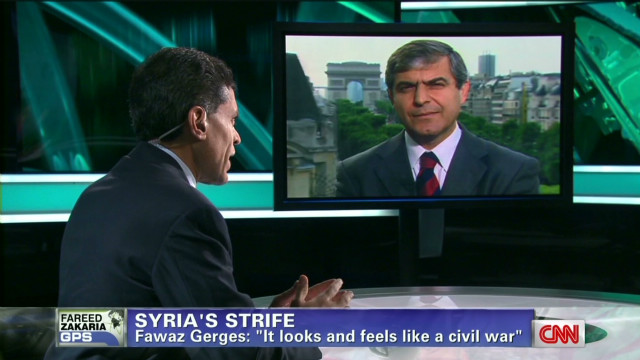 Fawaz Gerges on the crisis in Syria