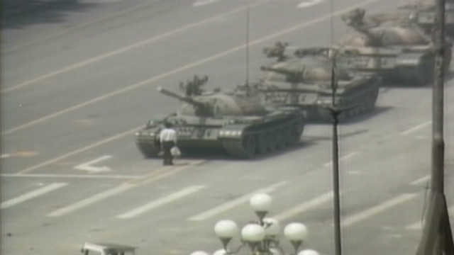 Activist remembers Tiananmen Square