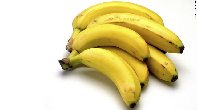 Unripe bananas are slightly better for you than ripe bananas, experts say.