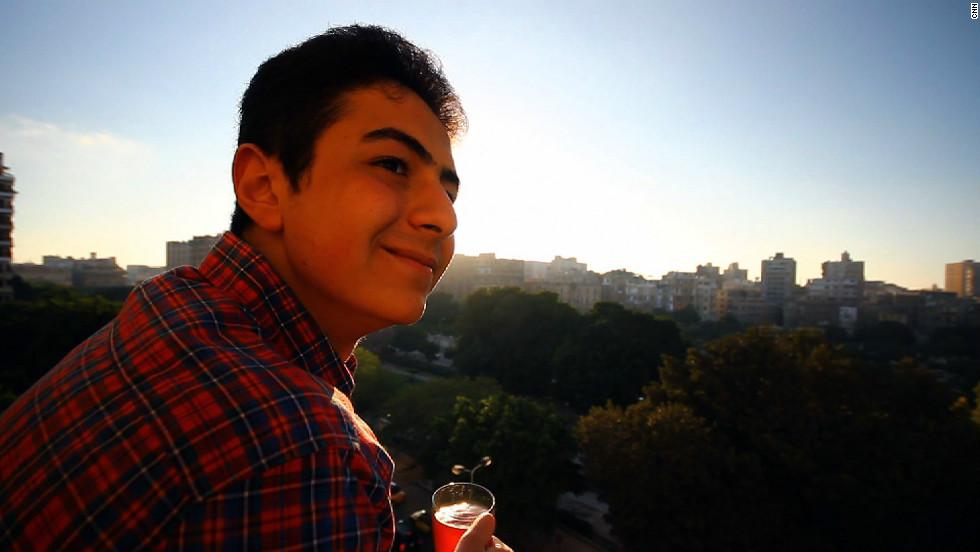 Egyptian student Amr Mohamed, 19, is one of the global winners of the YouTube Space Lab competition, which asked students to design experiments for space scientists.