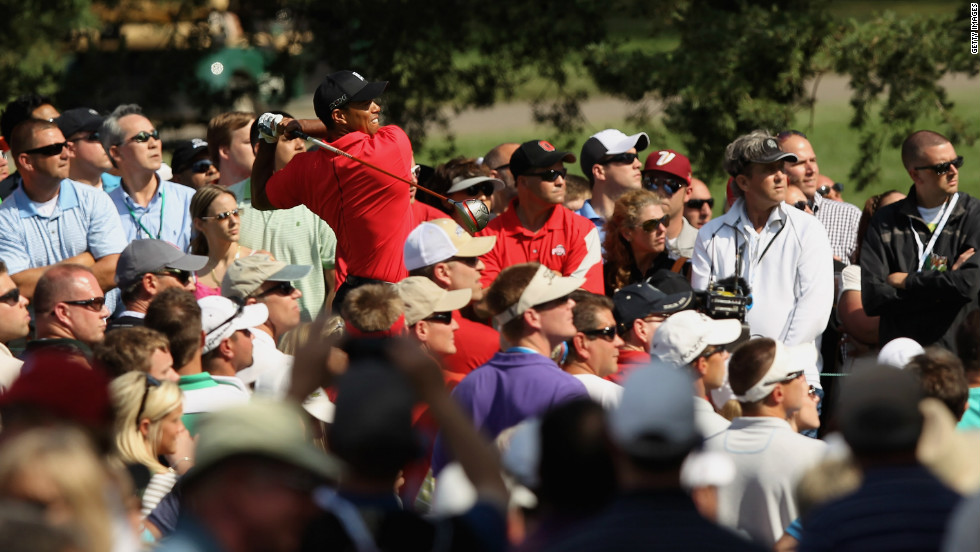 Despite personal problems and injuries in the past two years, the former world No. 1 is still a big drawcard with golf fans.