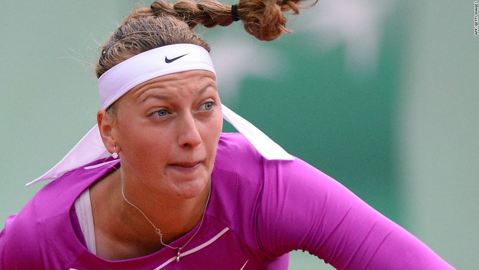 Czech fourth seed Petra Kvitova reached the Paris quarterfinals for the first time, and the 2011 Wimbledon champion will next play Shvedova.