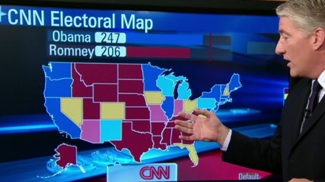 Swing States Could Decide U S Election