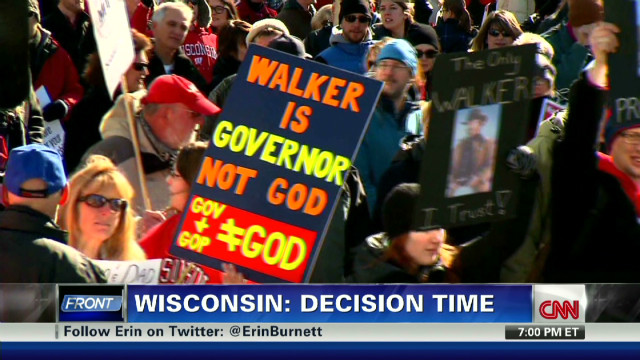 Wisconsin recall: Dry run for November?