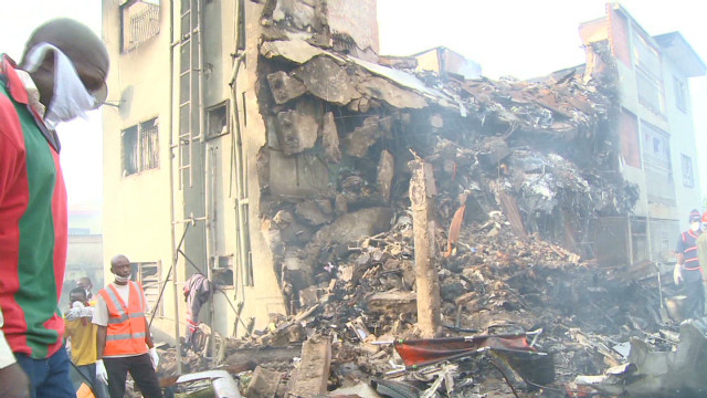 Lagos residents tell of chaotic scene