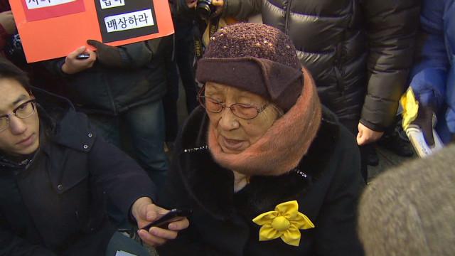 Korean 'Comfort women' demand justice