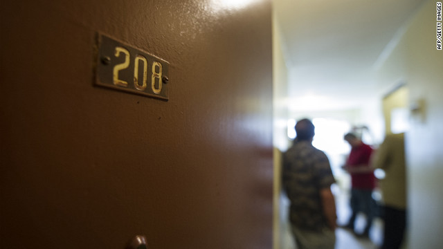 Police inspect the Montreal apartment where Luka Magnotta, the suspect in a videotaped dismemberment, reportedly lived.