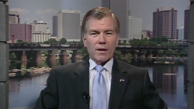 Gov. McDonnell: Walker a man of courage