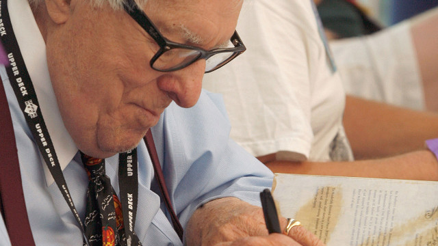 Author Ray Bradbury looks back