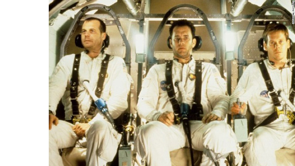 """Apollo 13"" was nominated for nine Oscars in 1996. Starring Kevin Bacon, Tom Hanks and Bill Paxton, the Ron Howard-directed drama was inspired by the 1970 Apollo 13 mission."