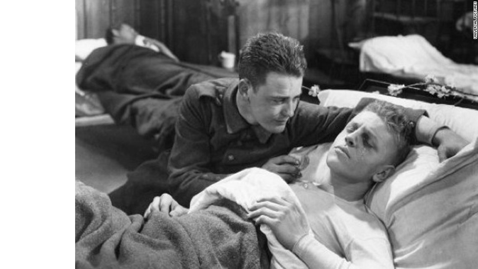 "Universal Studios is celebrating its 100th anniversary this year by restoring classic films like ""Jaws"" and ""The Birds."" In honor of the milestone, we're taking a look back at some of the studio's classic flicks, such as ""All Quiet on the Western Front,"" starring Louis Wolheim, Lew Ayres and John Wray. The 1930 war drama took home two Academy Awards, best picture and best director."