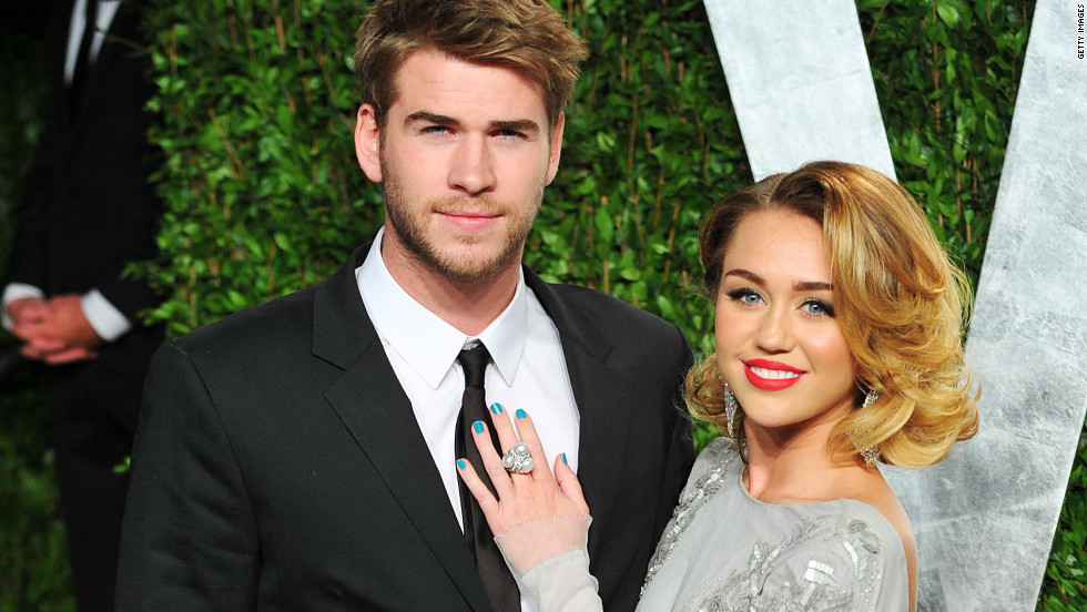 Miley Cyrus engaged to...
