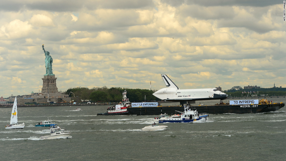 NASA's space shuttle program ended last year, 30 years after it began. The Enterprise was never launched into space.