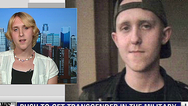 Transgender veteran denied active duty
