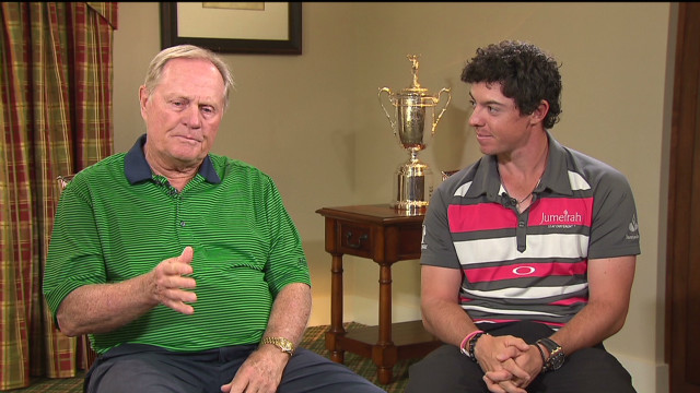 Nicklaus offers McIlroy U.S. Open advice