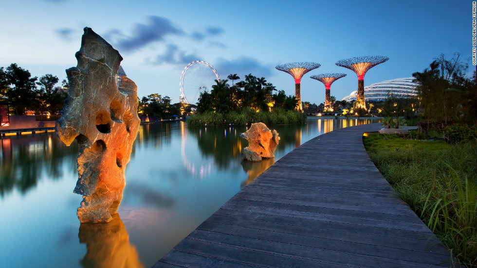 Garden By The Bay Admission solar-powered 'supertrees' at singapore's gardensthe bay - cnn