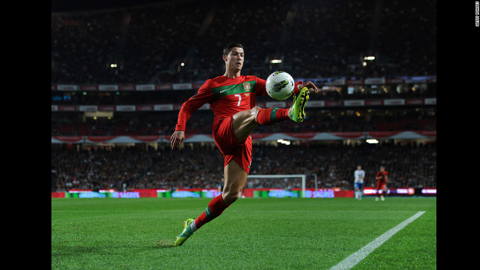 Portugal's Cristiano Ronaldo is widely considered the second best player in the world after Argentine player Lionel Messi. A master of the free kick with mesmerizing ball skills, Ronaldo, at his best, is a player that you simply can't stop watching.