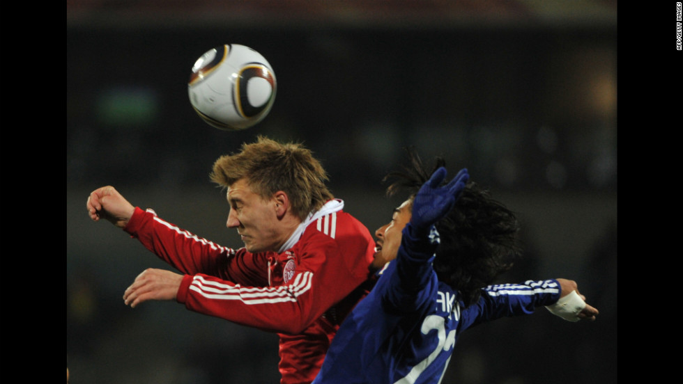 Denmark's prolific striker Nicklas Bendtner, left, will have to be at the top of his game if the Danish team are to progress out of the initial stages of the tournament.