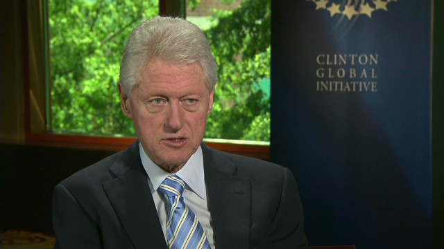 Clinton not sold on military action, yet