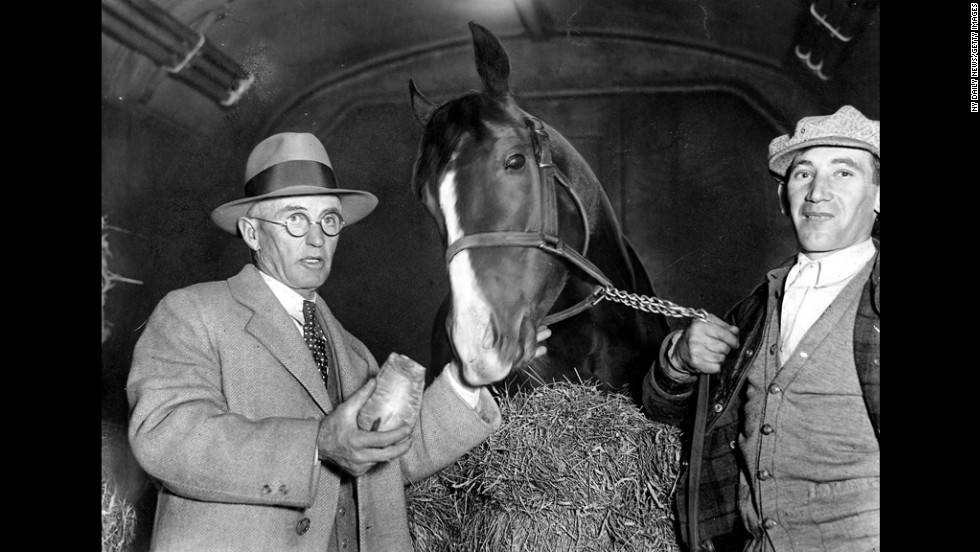 More than a decade later, Gallant Fox captured the Triple Crown in 1930.