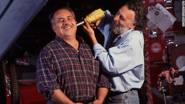 "Ray (left) and Tom Magliozzi of NPR's ""Car Talk."""