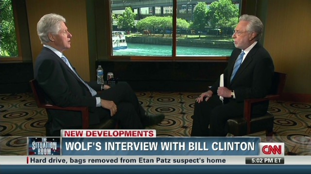 "Bill Clinton: ""I'm Sorry"""
