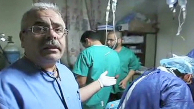 Struggle to save wounded kids in Syria