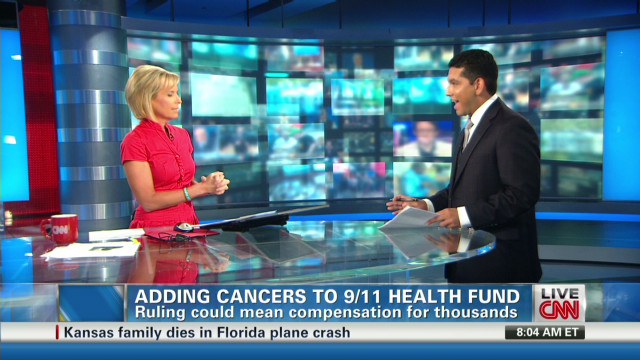 9/11 health fund to cover cancer?