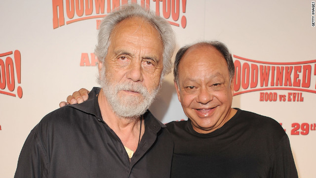 Tommy Chong: 'I will light up'