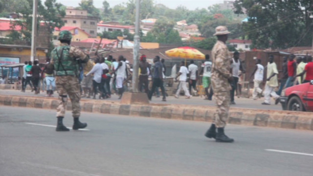 8 killed in Nigerian blast, clashes