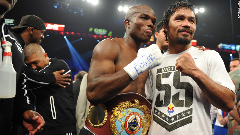 Most observers scored the fight in Pacquiao's favor, including former heavyweight champion, Lennox Lewis, who said the result lacked integrity.
