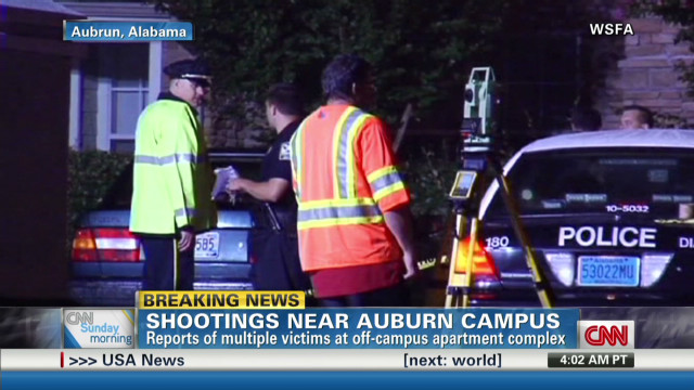 Multiple victims in Auburn shooting