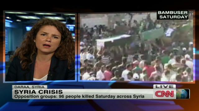 96 dead as Syria opposition picks leader