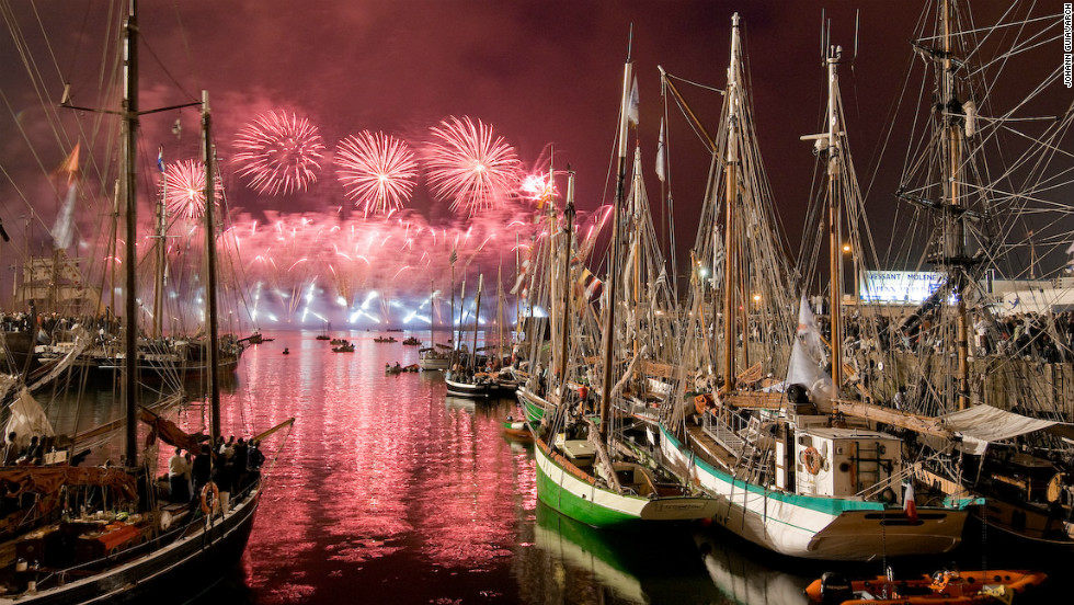 "The port city has been one of France's most important harbors since the medieval period. Every four years it hosts  ""Les Tonnerres de Brest,"" a spectacular maritime festival celebrating traditional sailing from around the world."