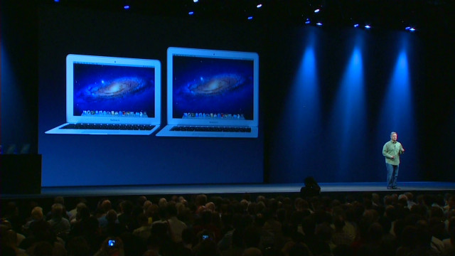 Apple announces upgrades to laptops