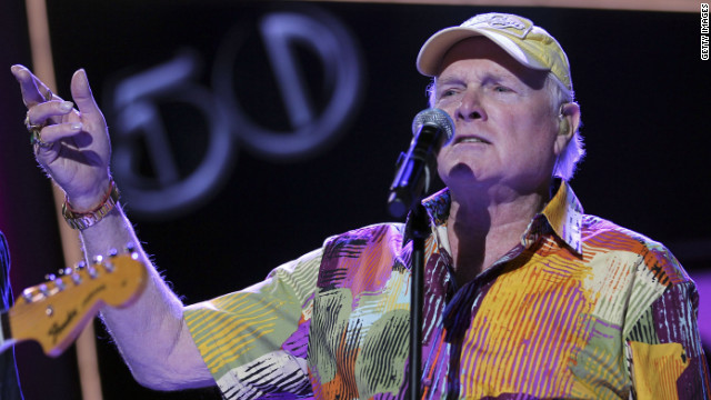 Mike Love of the Beach Boys performs at an event in May in Las Vegas.