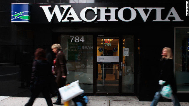 Wachovia Bank settled after it was accused of laundering $378 billion in Mexican drug cartel funds between 2004 and 2007.