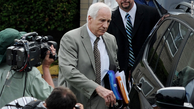 Sandusky trial: Wrestling incident
