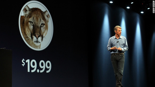 Speakers at Apple's WWDC keynote barely mentioned the company's Mountain Lion operating system for desktops.